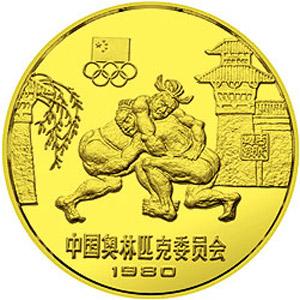 中国奥林匹克委员会铜质18克图片