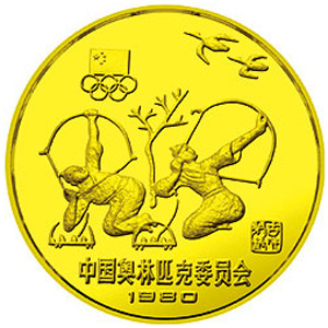 中国奥林匹克委员会铜质12克图片