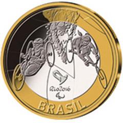 2016里约奥运会(第1组)纪念币