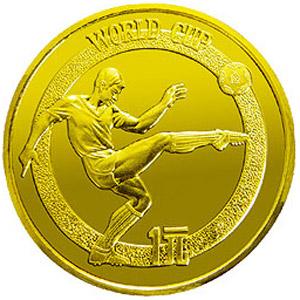 第12届世界杯足球赛铜质图片