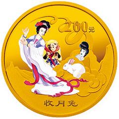 古典文学名著西游记彩色(第3组)金质纪念币