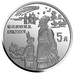 中国古代科技发明发现(第3组)银质纪念币