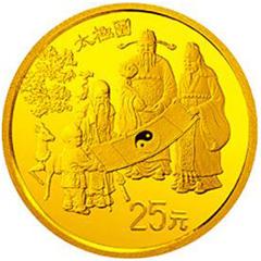 中国古代科技发明发现第2组金质(25元)纪念币