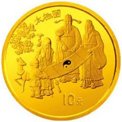 中国古代科技发明发现第2组金质(10元)纪念币