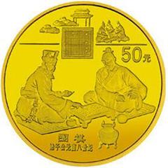 中国古代科技发明发现(第4组)金质纪念币